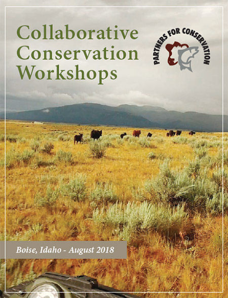 Collaborative Conservation Workshops - Boise, Idaho - August 2018