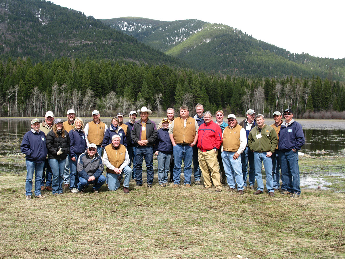 Group photo of attendees on PLPD field trip