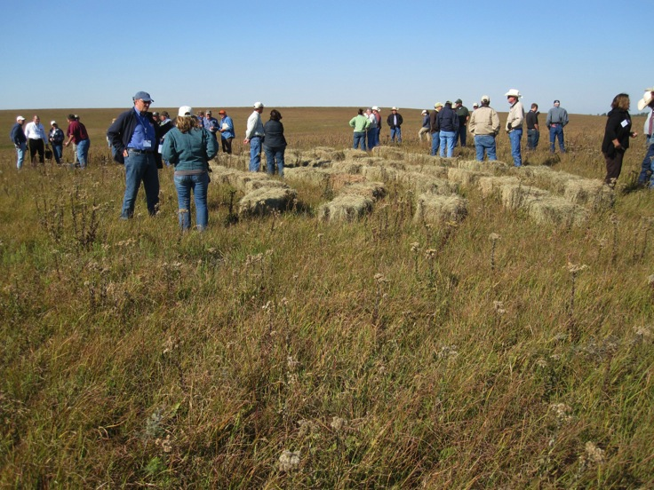 Group photo of people attending a PLPD field trip in Kansas